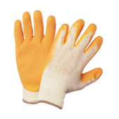 Super grip gloves pack of 1 pair white / gold one size