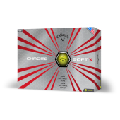 Callaway Chrome SoftX Gele Golfbal