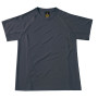 Coolpower pro tee dark grey l