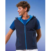 Stretch Softshell-stof met jersey