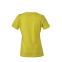 Ladies' Heather T-Shirt geel-melange