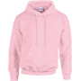 Heavy blend™ classic fit adult hooded sweatshirt light pink l
