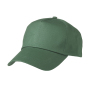 5 Panel Promo Cap Lightly Laminated donkergroen