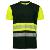 6020 T-SHIRT CL.1 Yellow/black XS