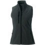 Ladies' softshell gilet titanium s