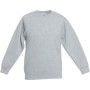 Kids classic set-in sweat (62-041-0) heather grey 7/8