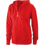 Ladies' Hooded Jacket rood
