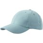 6 Panel Cap Low-Profile lichtgrijs