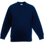 Kids classic set-in sweat (62-041-0) deep navy 3/4