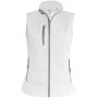 Dames softshell bodywarmer white xxl
