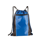 Drawstring backpack with pocket