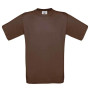 Exact 190 t-shirt chocolate l