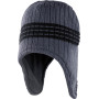 Peru hat charcoal grey one size
