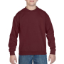 Gildan Sweater Crewneck HeavyBlend for kids maroon XL
