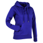 Stedman Sweater Hood Active for her deep berry L