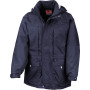 Multi-function winter jacket navy m