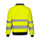 6430 pilot jacket HV CL3 Yellow/black XXXL