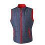 Ladies' Padded Light Weight Vest navy/rood