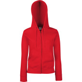 Ladies' premium full zip hooded sweatshirt (62-118-0)