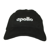 Baseballcap black Apollo