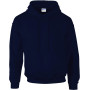 Dryblend® classic fit adult hooded sweatshirt navy xl