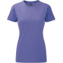 Ladies' hd t purple marl xs