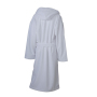 Functional Bath Robe Hooded wit