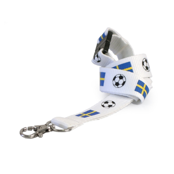 Logoband Swedish football (From Stock)