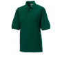 Men's classic cotton polo bottle green l
