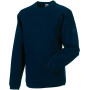 Heavy duty crew neck sweatshirt french navy l