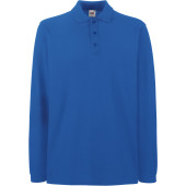Premium long-sleeved polo shirt (63-310-0)
