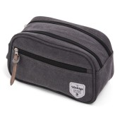 Vintage Canvas Cosmeticbag Grey