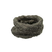 Coarse Knitted Loop Scarf