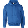 Dryblend® classic fit adult hooded sweatshirt royal blue m