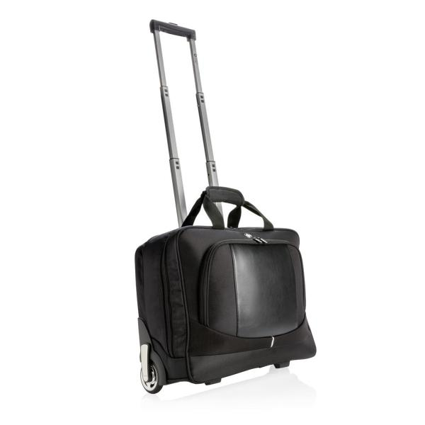 Trolley business Swiss Peak, noir