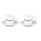 Fancy Espresso Duo porselein set 4-delig