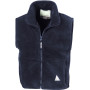 Junior polartherm™ bodywarmer navy 3/4
