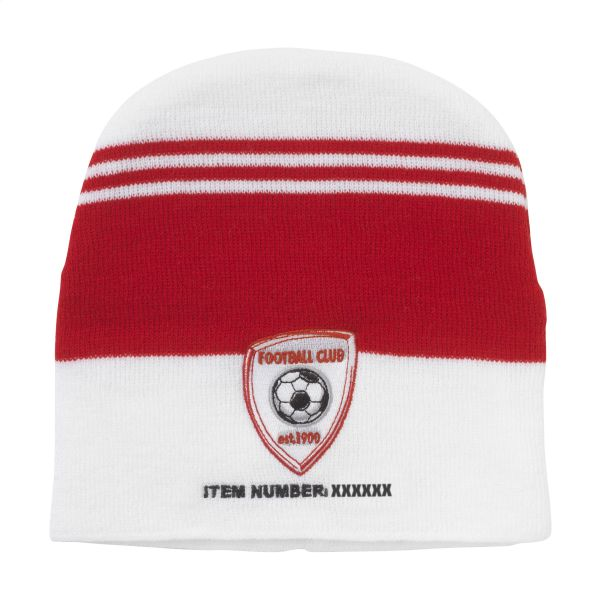 Supporter Beanie inclusief borduursel