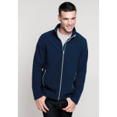 Men's 2-layer softshell jacket