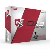 Wilson DX3 Soft Spin Golf Balls