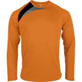 Unisex long-sleeved sports t-shirt