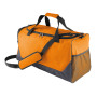 Multisporttas dark grey / orange 55 x 32 x 26 cm
