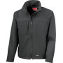 Classic soft shell jacket black s