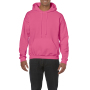 Gildan Sweater Hooded HeavyBlend safety pink XXL