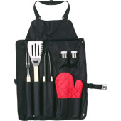 RVS barbecue set