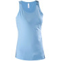 Dames top sky blue l