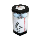 Callaway 3-Ball Towel Tin (Prijs is ecxl. Ballen )