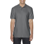 Gildan Polo Double Pique Softstyle for him charcoal L