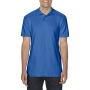 Gildan Polo Double Pique Softstyle for him royal blue 3XL