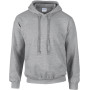Dryblend® classic fit adult hooded sweatshirt sport grey l